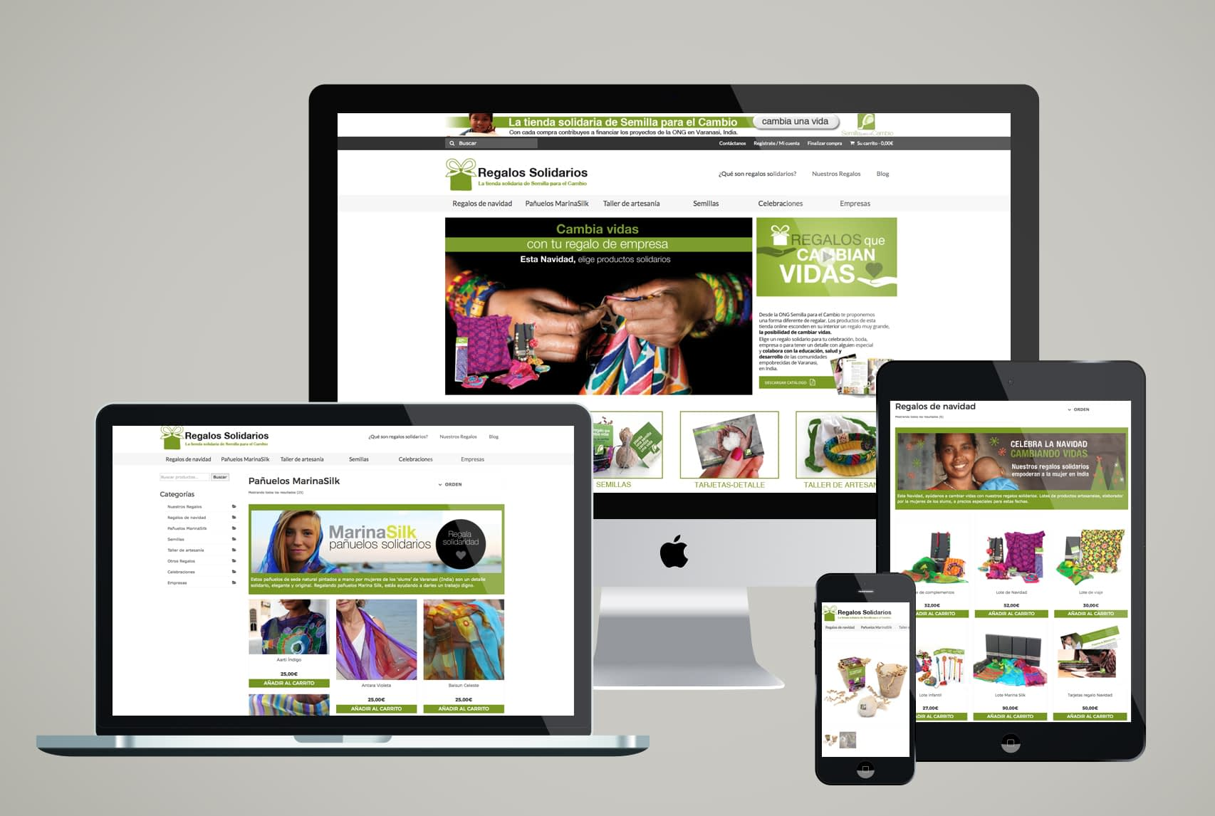 RegalosSolidarios.org.es - Nueva tienda online