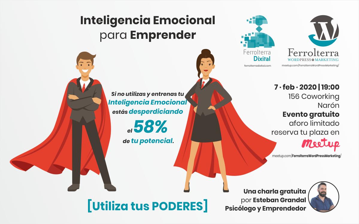 Inteligencia emocional para emprender por Esteban Grandal